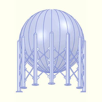 Sphere split into 12 bodies.