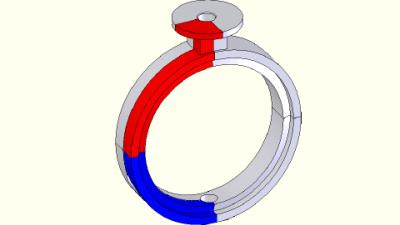 Valve showing symmetry