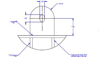 Sample drawing of a Spreader Bar