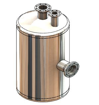 The simple vessel used for this sample cycle life report.