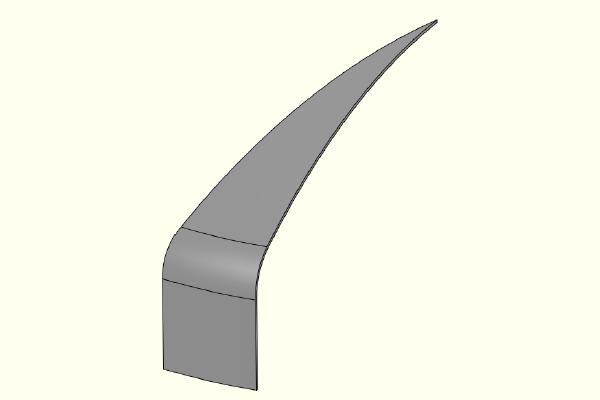 FEA model of F&D Head