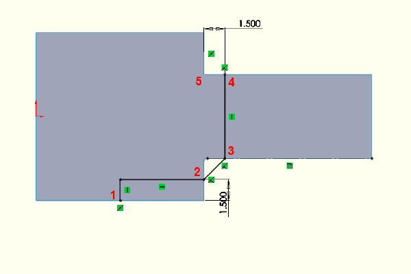 Flat plate model with two test areas.
