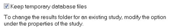 Set the above option flag under Simulation/Options.../Default Options/Results/Results Folder.
