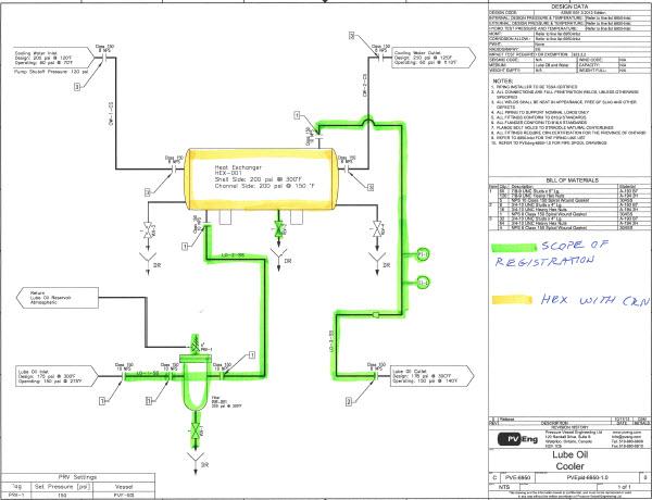 CRN Piping Sample – Pressure Vessel Engineering