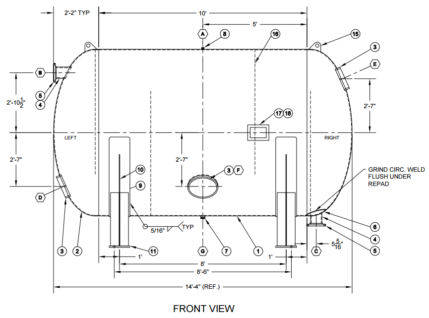 piping diagram solidworks 3d piping diagram horizontal retention vessel pressure vessel engineering #8