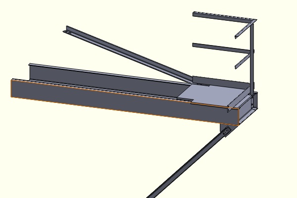 Solid Model of Stairway Landing