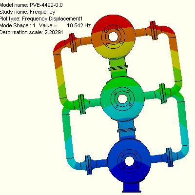Seismic analysis of pressure equipment