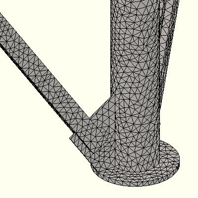 Solid mesh details