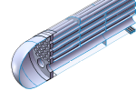 Heat Exchanger FEA with Thermal Loads Sample Post